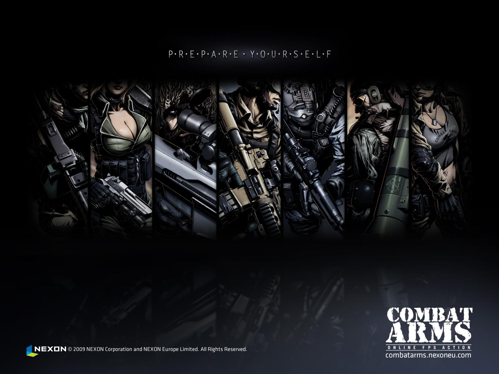 Видео Игры Combat Arms обои для рабочего стола 1600x1200.